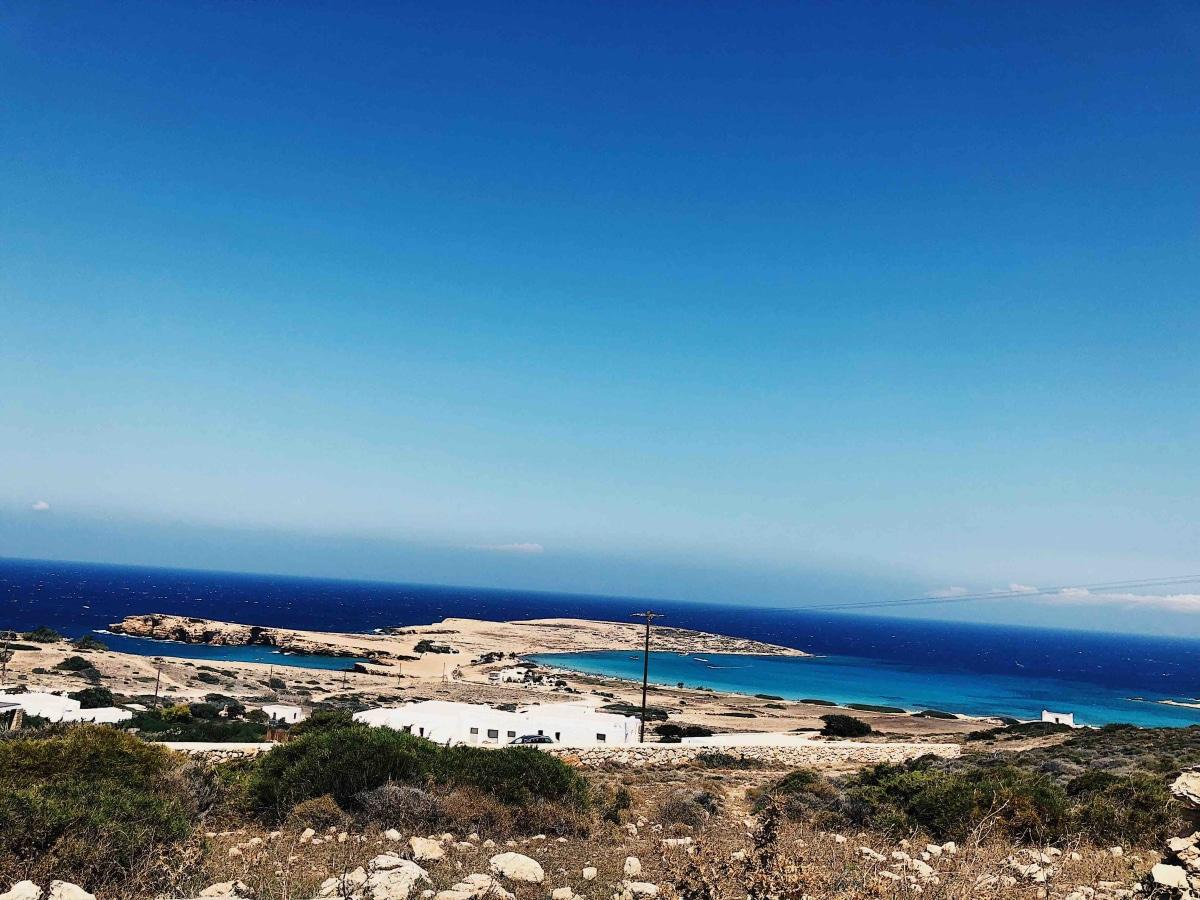 Pori beach is the most famous beach on Koufonisia.