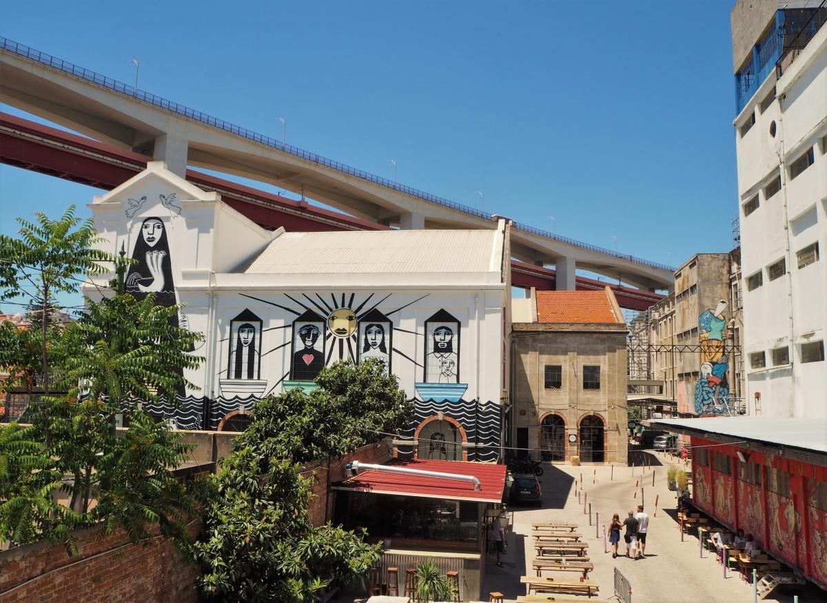 LxFactory in Lisbon.