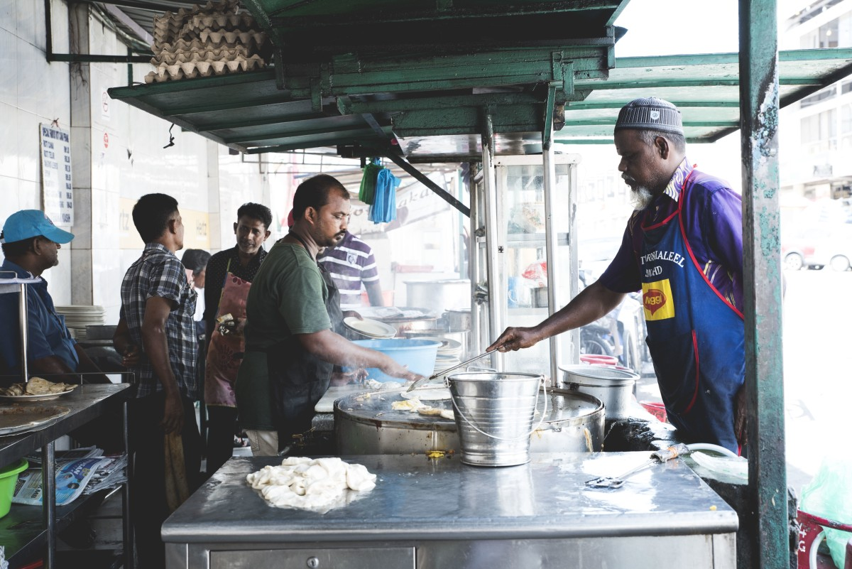 Street food in George Town