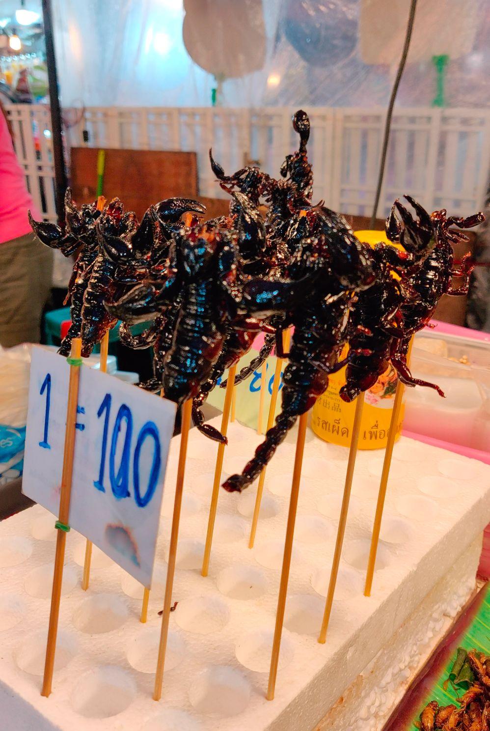 Fried Scorpians