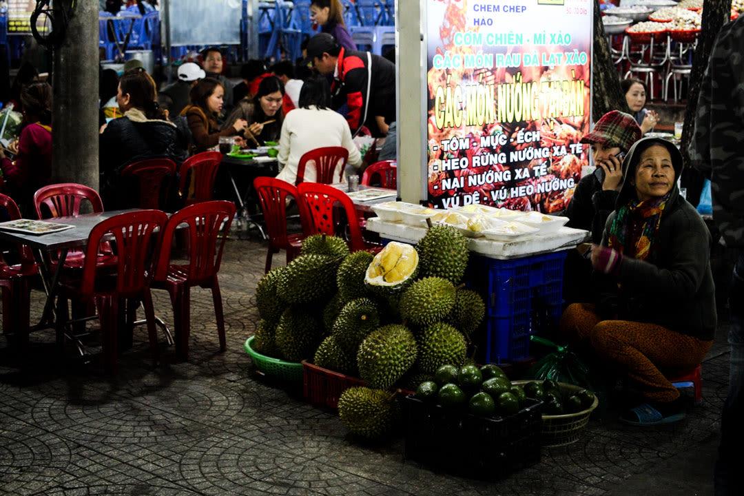 Night market scenes
