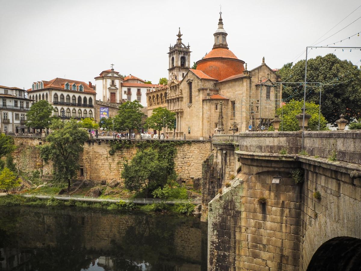 The Saint Gonçalo Church, in Amarante (Portugal)