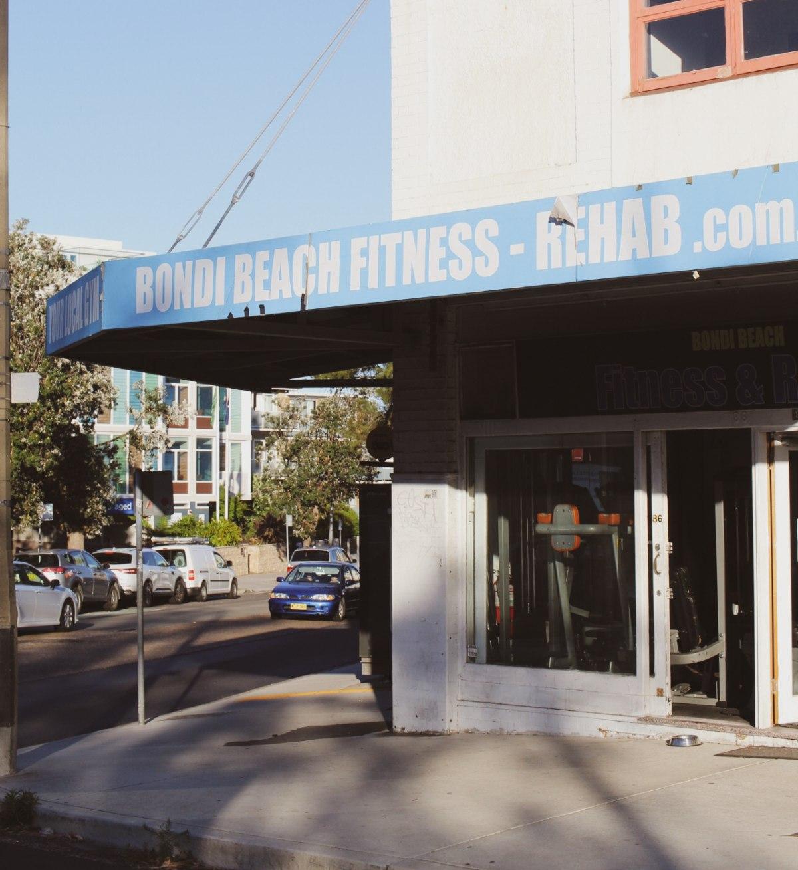 Typical gym in Bondi