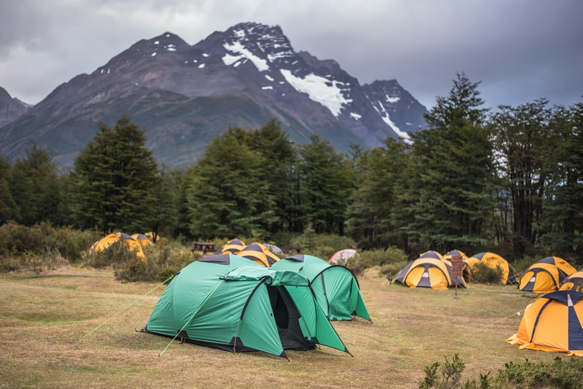 The Dickson campsite is  one of the wildest places in the park