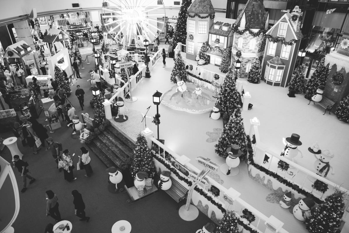 Shopping center in KL