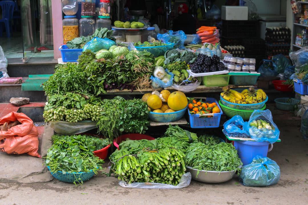 Dong Van Market stall