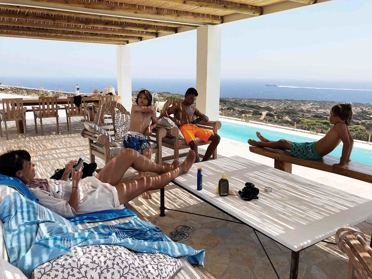 Life in Greece is easy