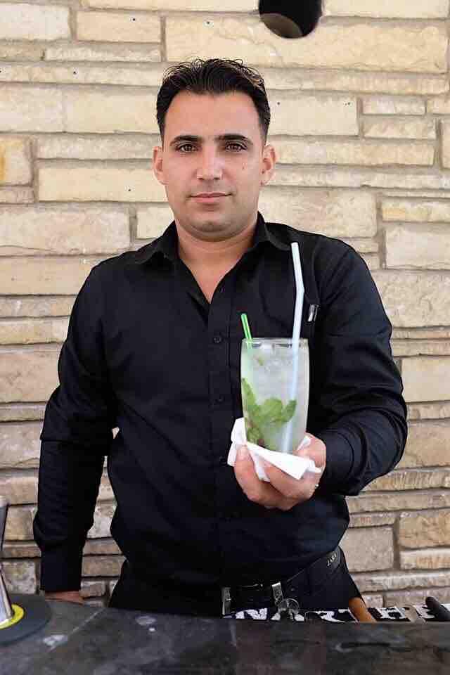 Our epic bartender Jordan
