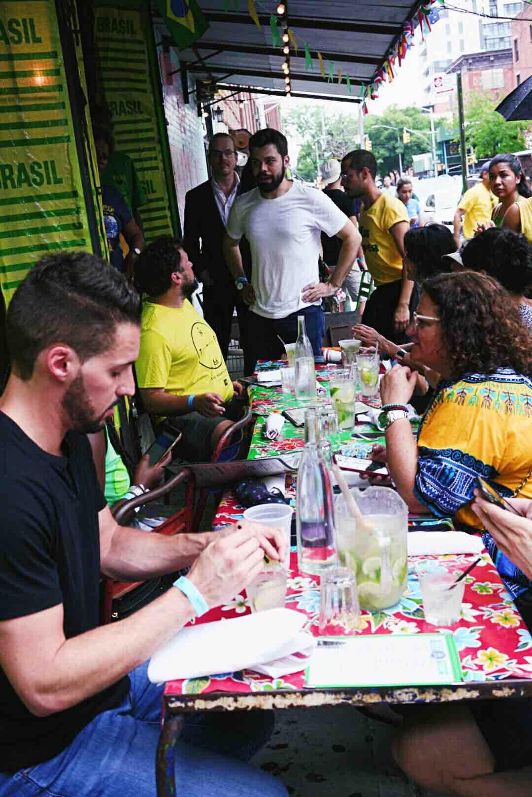 Endless caprihinas and fun at Miss Favela