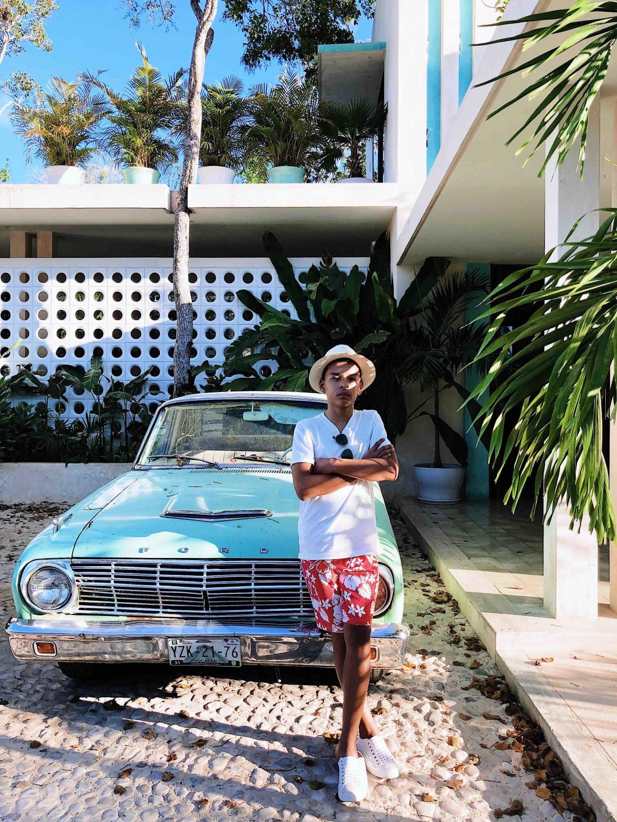 Jaden at Hotel Tiki Tiki