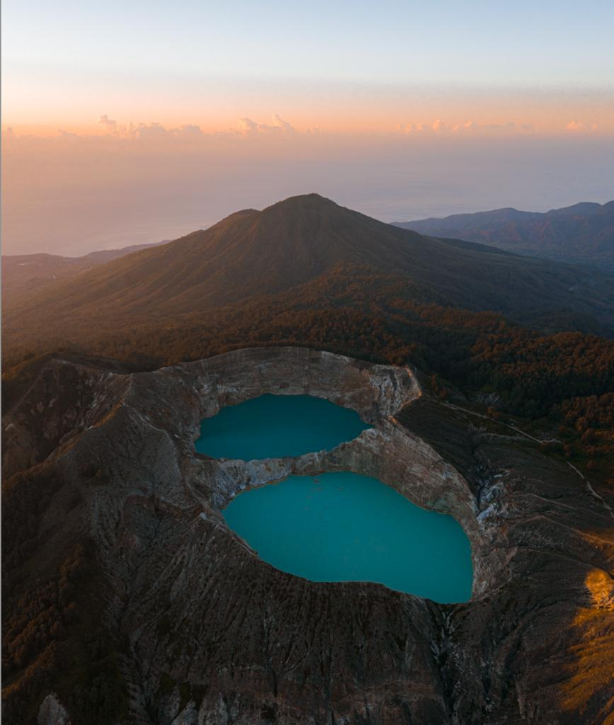 Kelimutu National Park From Above