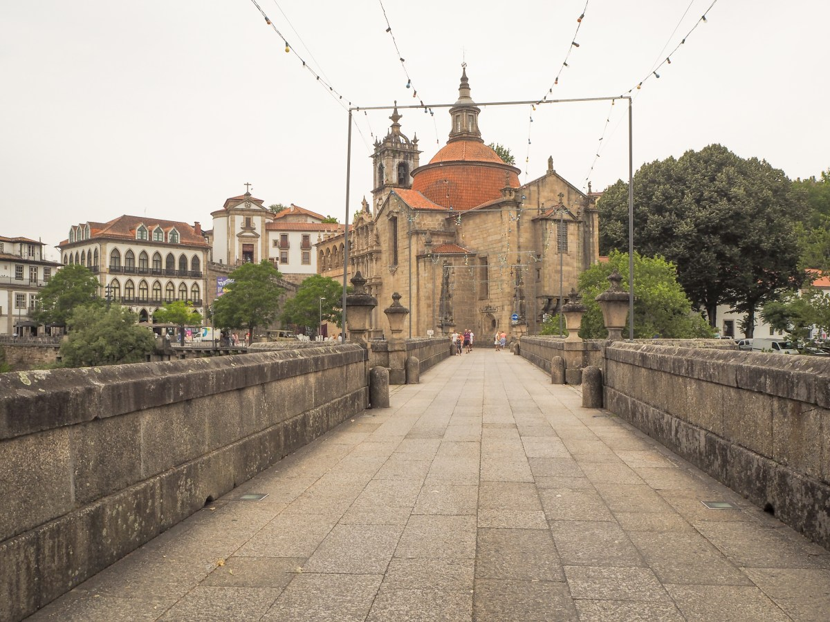 The Saint Gonçalo bridge, in Amarante (Portugal).