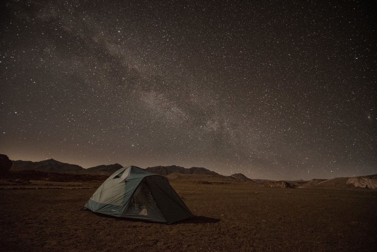 Camping in the Atacama desert is a must-do if you ever travel to Chile