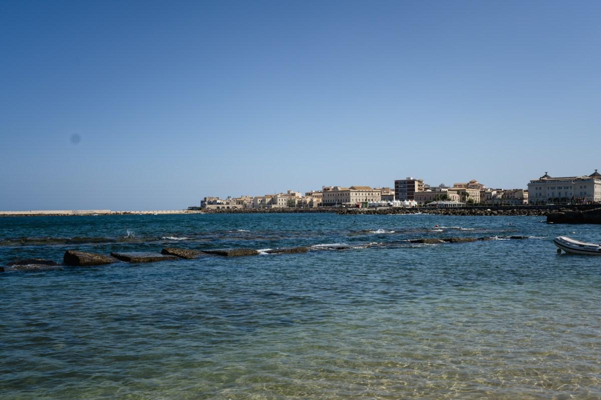 View of Ortigia Island.