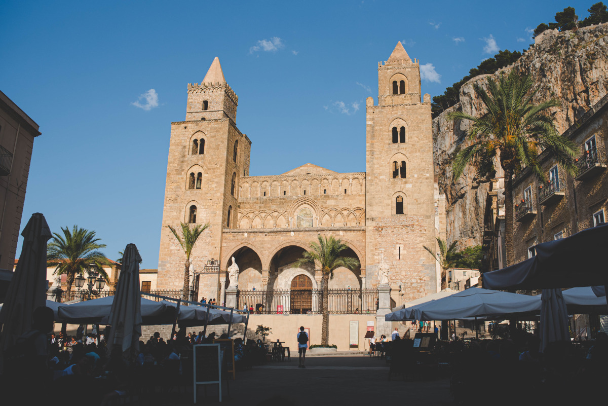 Cefalù\x27s cathedral