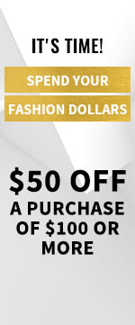 $50 OFF a purchase of $100 or more