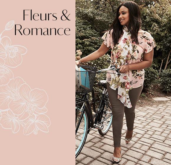 NOUVELLE COLLECTION : FLEURS + ROMANCE