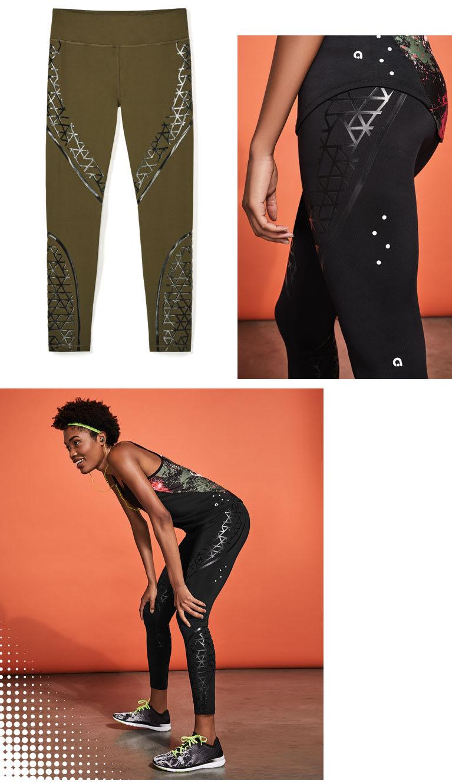 The compression running legging