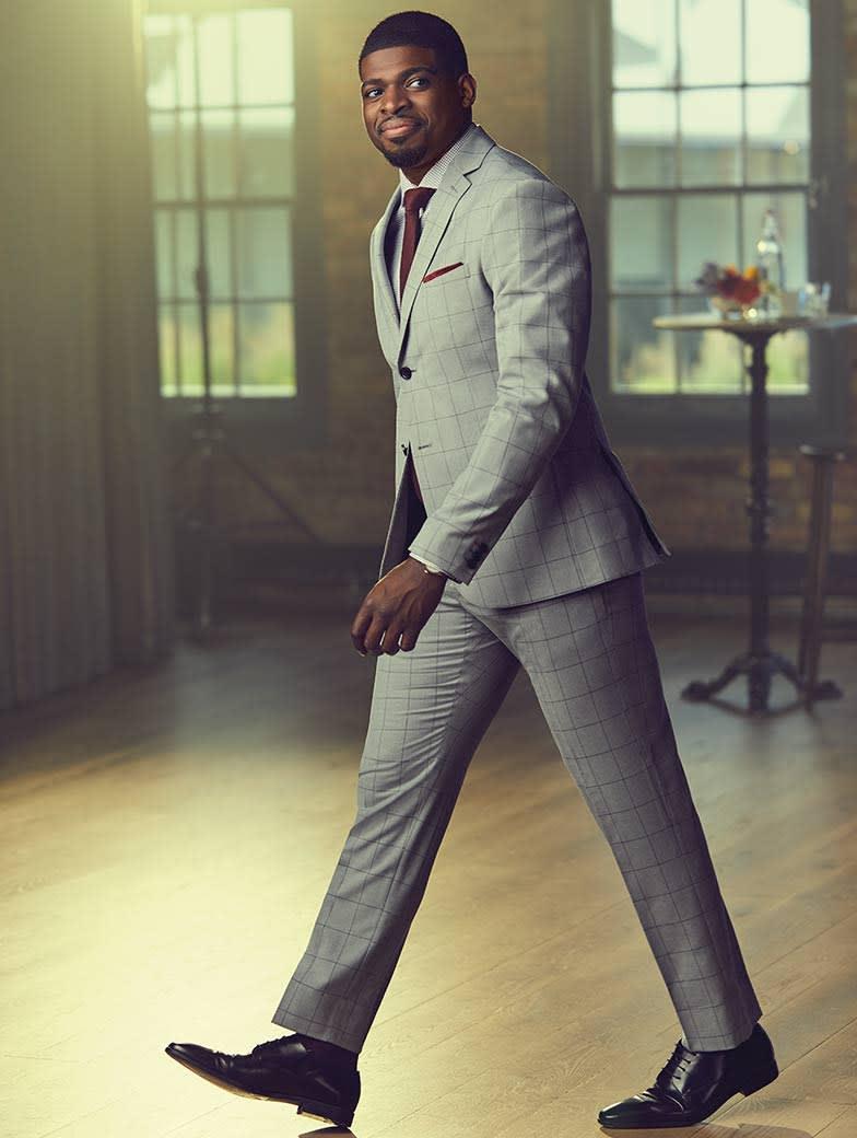The Grey Window Pane Suit