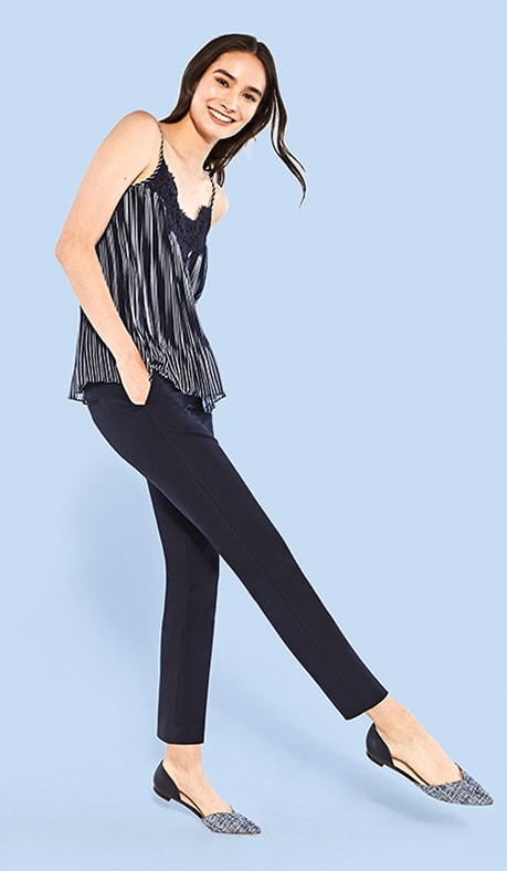 Ankle slim leg - Pant Guide