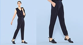 Women's Pleated Pants at $39.90