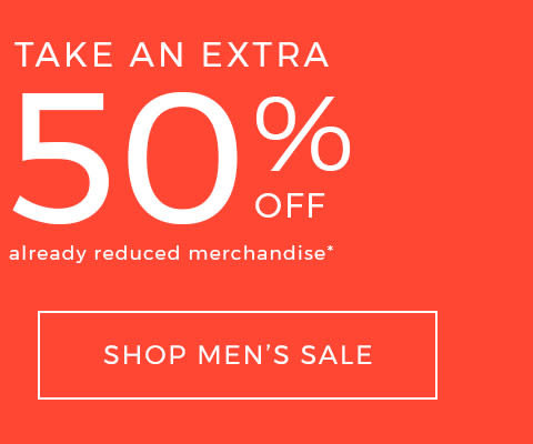 Shop sale men