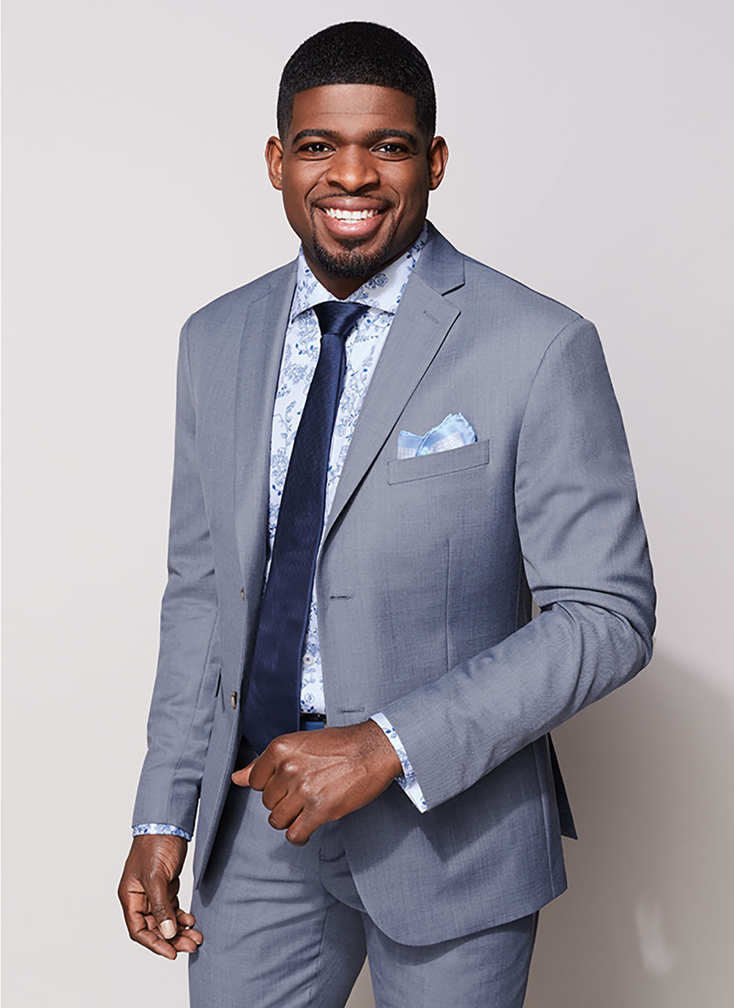PK Subban Suits Athletic Fit