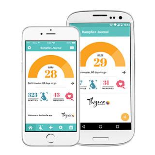 Bumpfie Maternity app