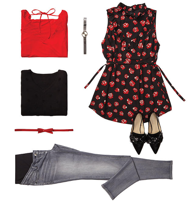Tendance - Roses rouges