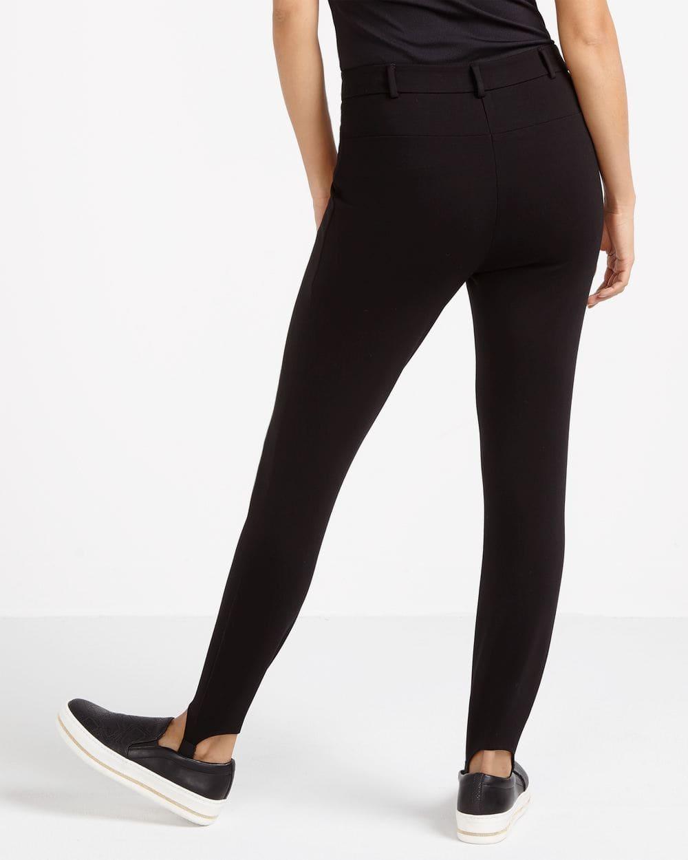 Zip Stirrup Leggings