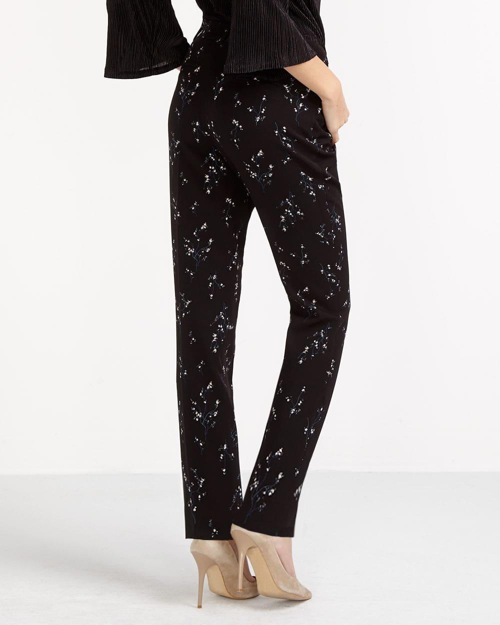 Printed Skinny Pants