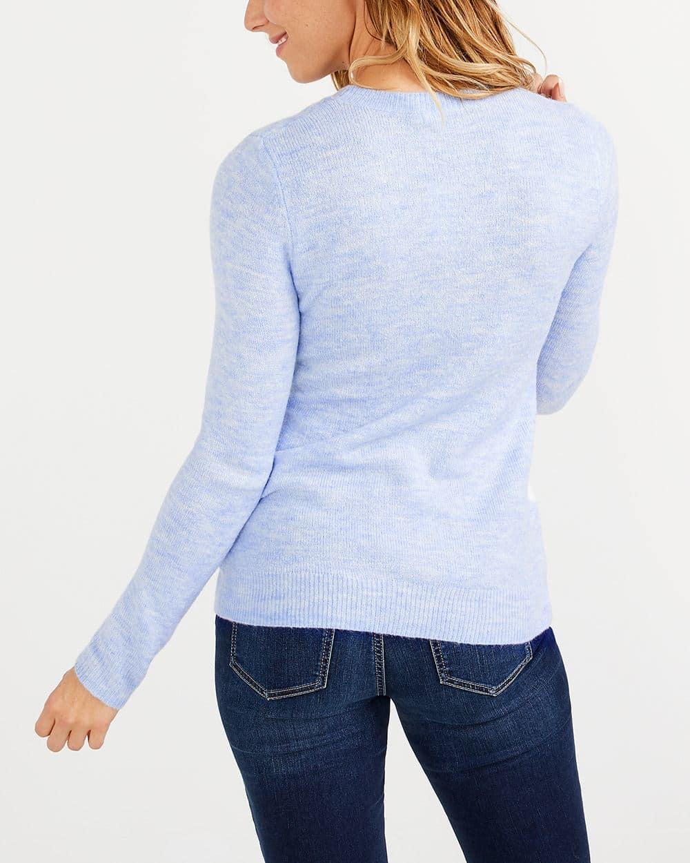 Winter Landscape Pattern Sweater