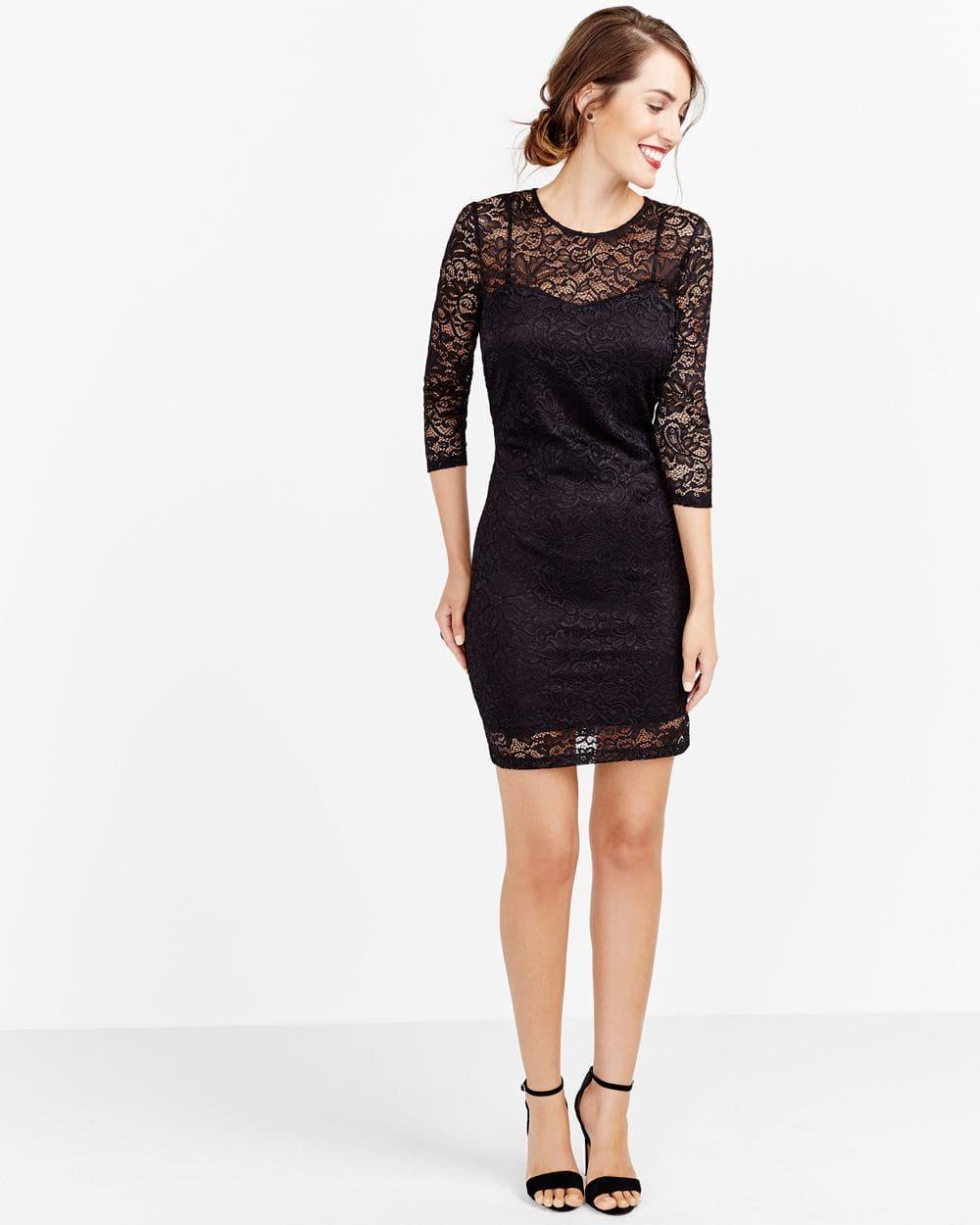 Lace Bodycon Dress