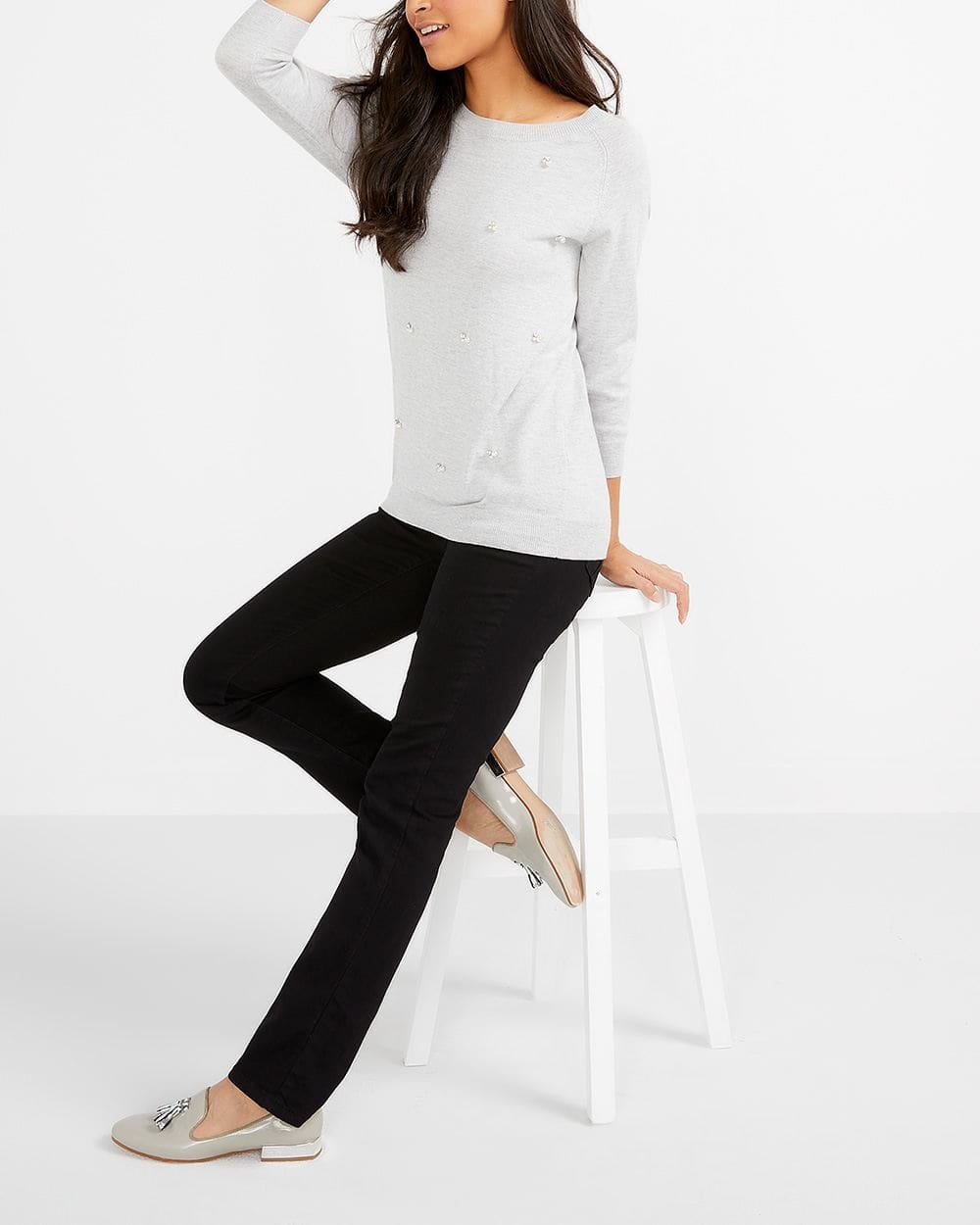 Petite Straight Leg Jeans