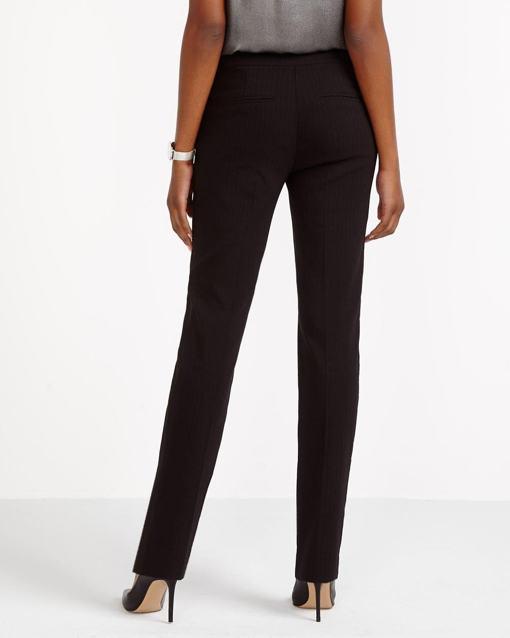 The Iconic Pattern Straight Leg Pants