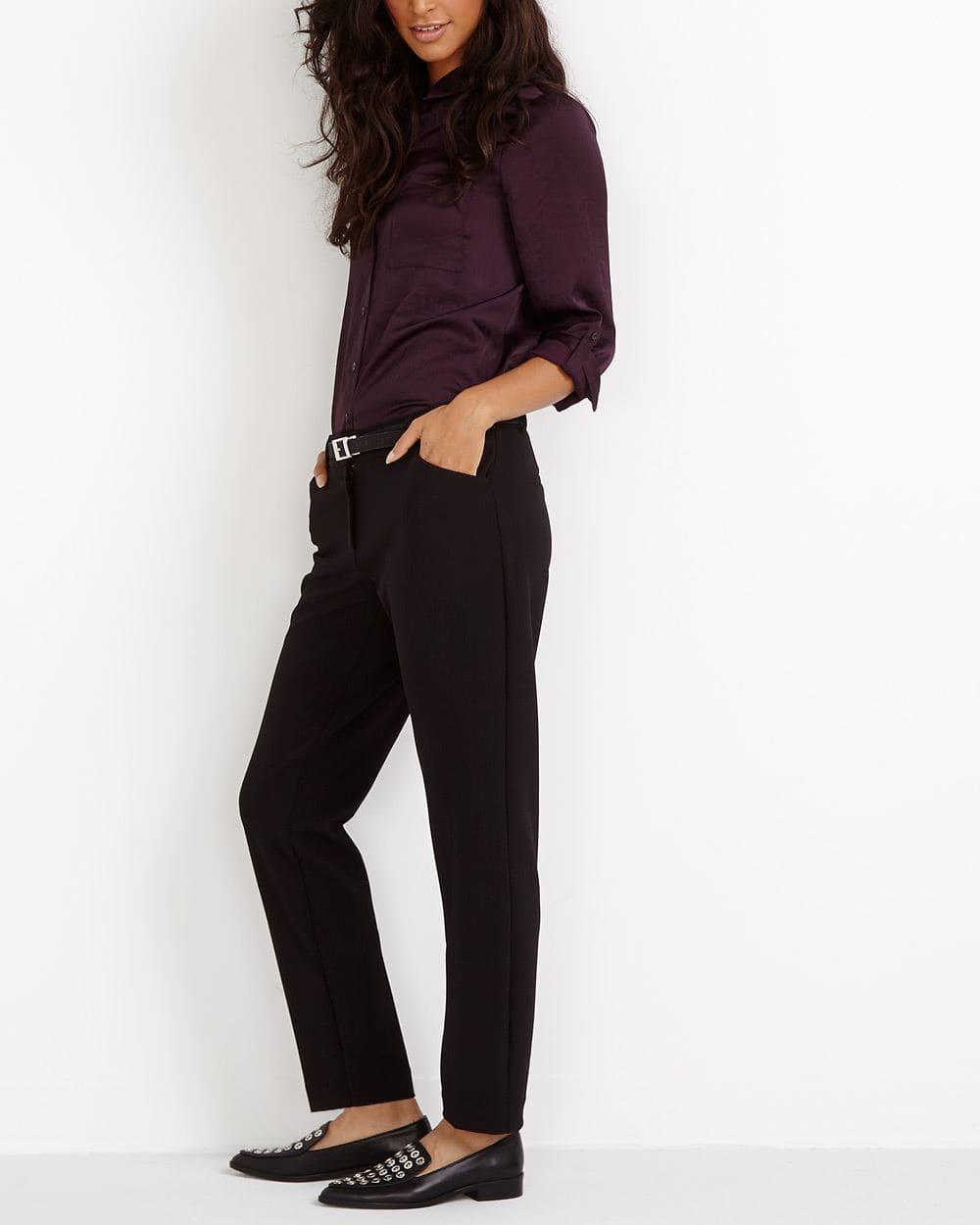 Tall Solid Skinny Pants