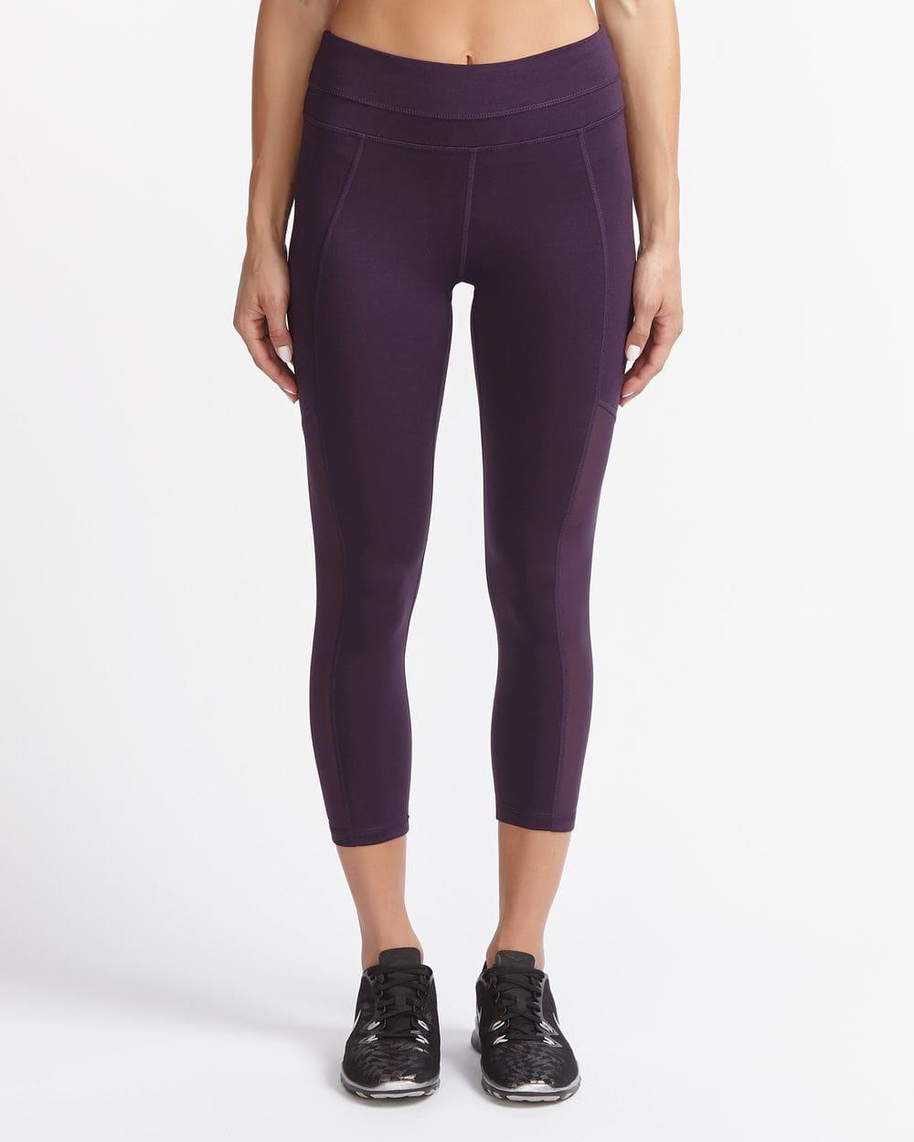 Hyba Mesh Yoga Capri Legging