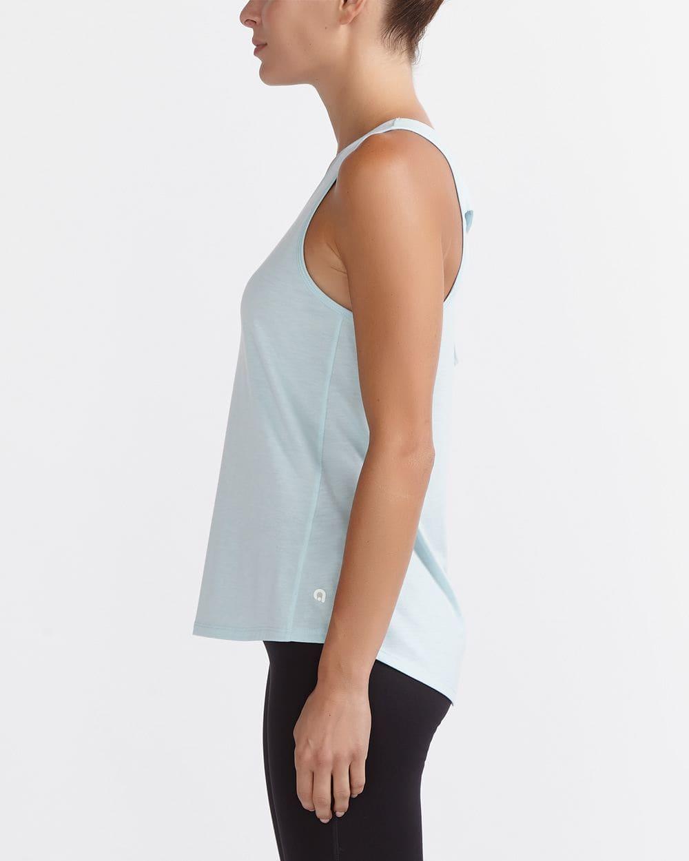 Cami de yoga à dos croisé Hyba