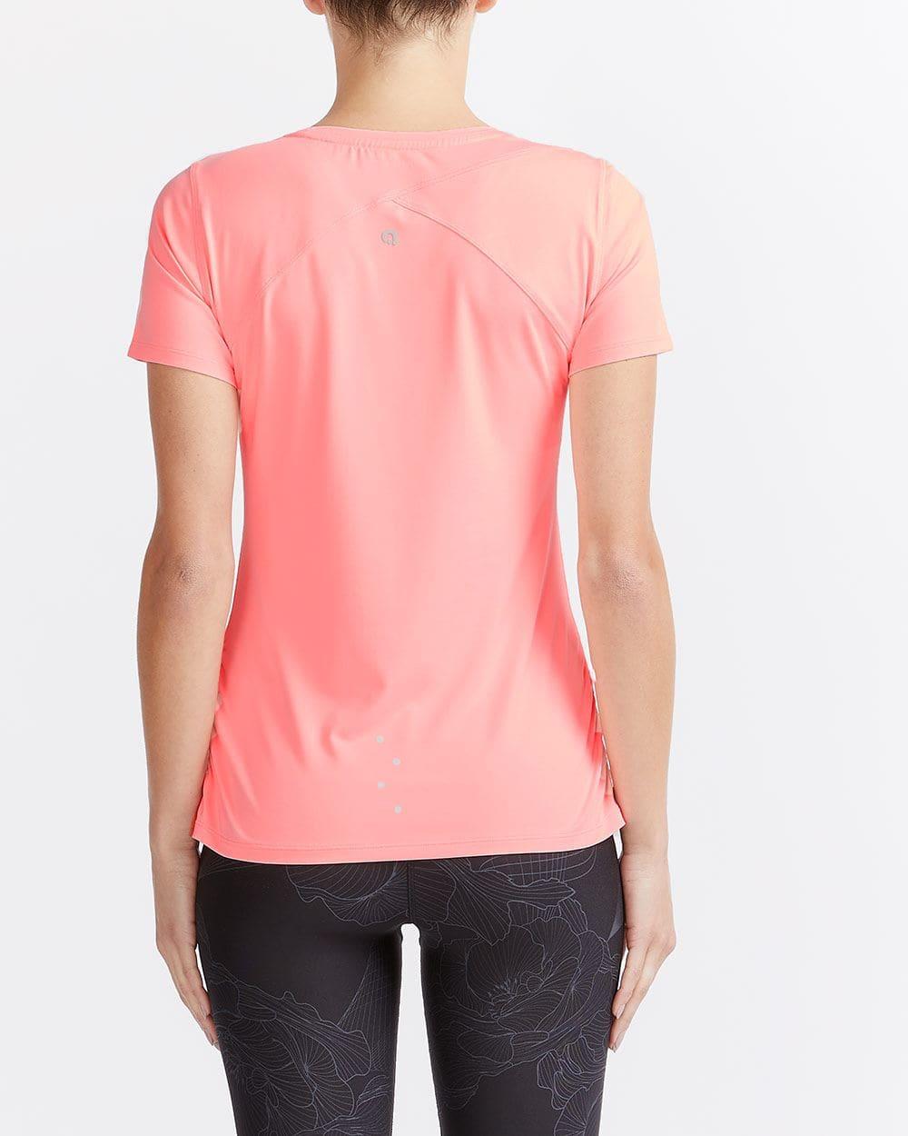 T-shirt à effet plissé Hyba