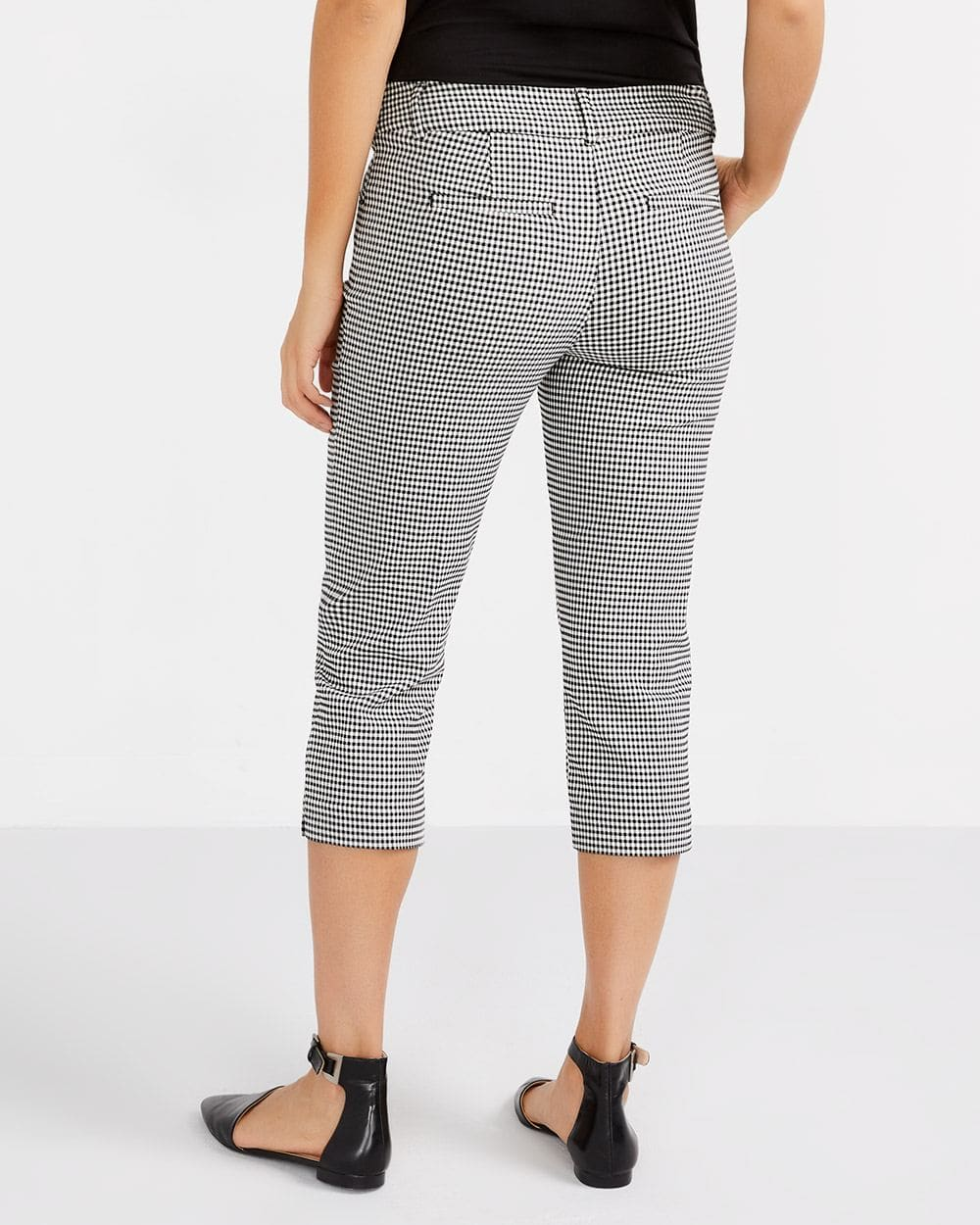 The Iconic Gingham Capris