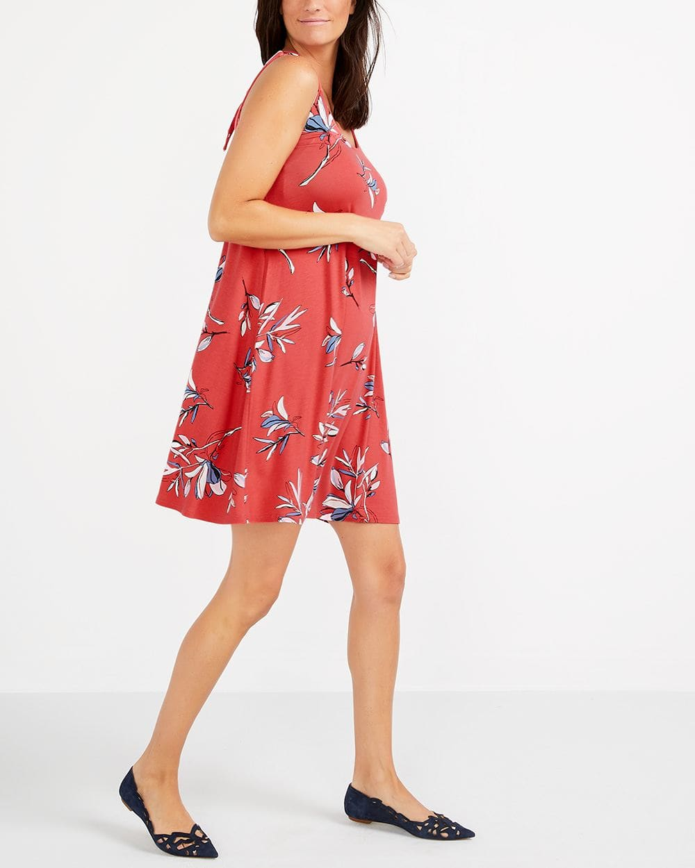 Sleeveless Back Knot Detail Dress