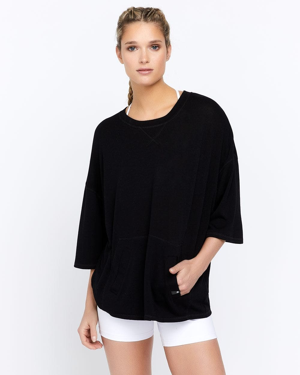 Hyba Cover-Up Top with Open Back