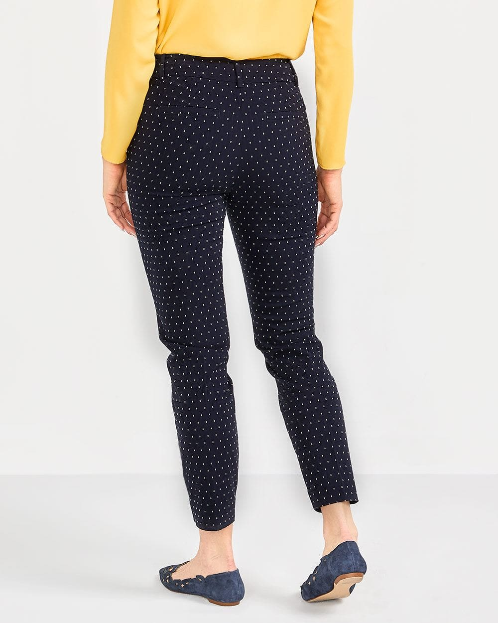 The Tall Iconic Polka Dot Ankle Pants