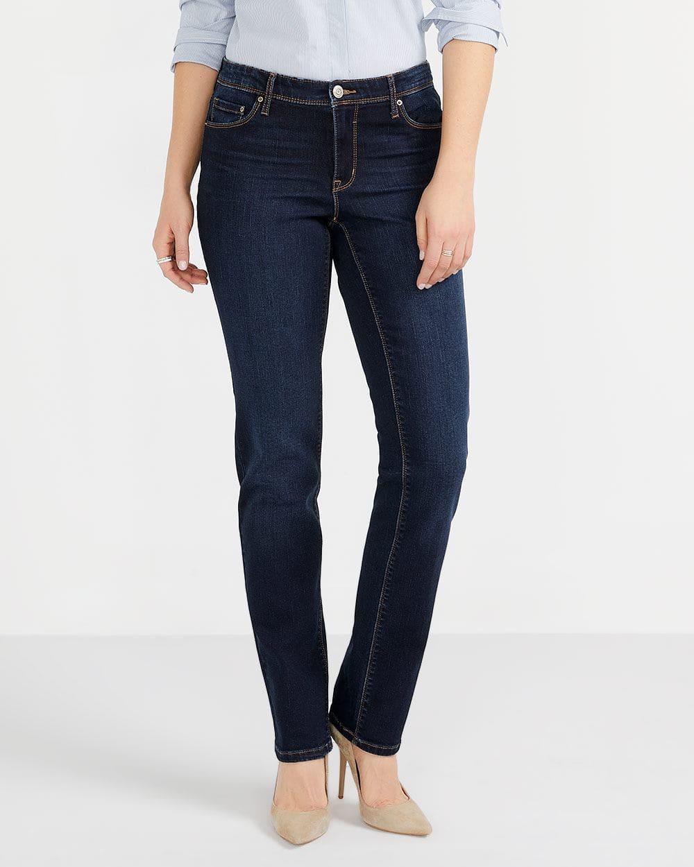 The Tall Insider Dark Wash Straight Leg Jeans