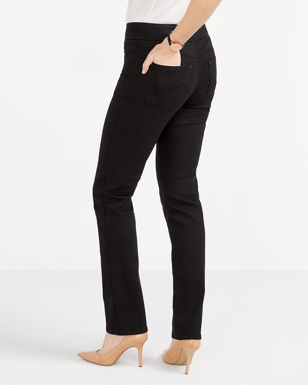 The Original Comfort Black Jeans