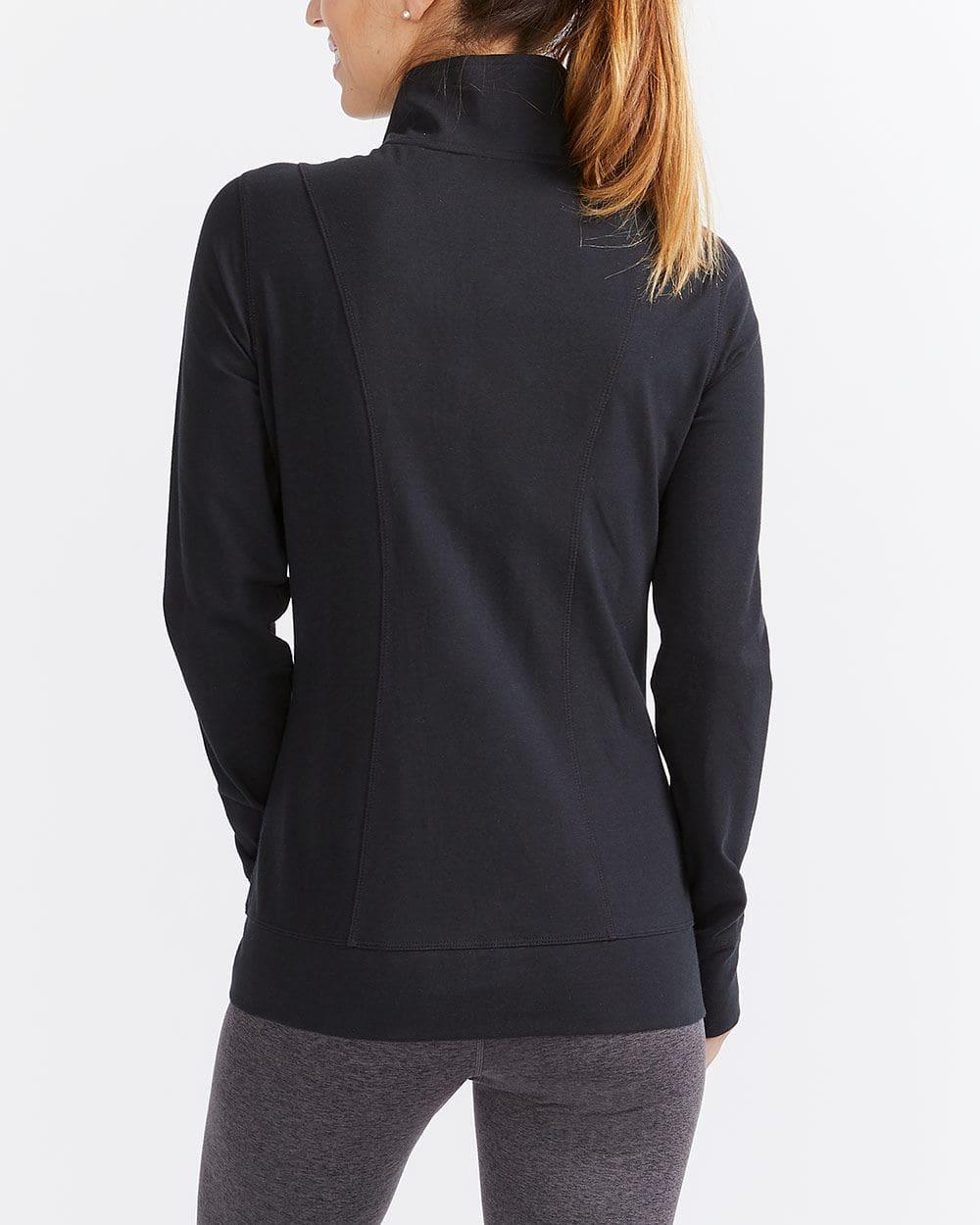 Hyba Shirred Zip Jacket