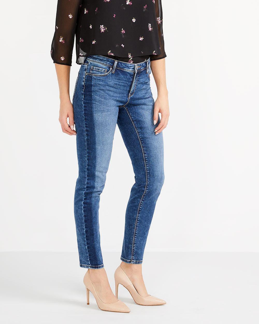 Tall Contrasting Stripe Skinny Jeans