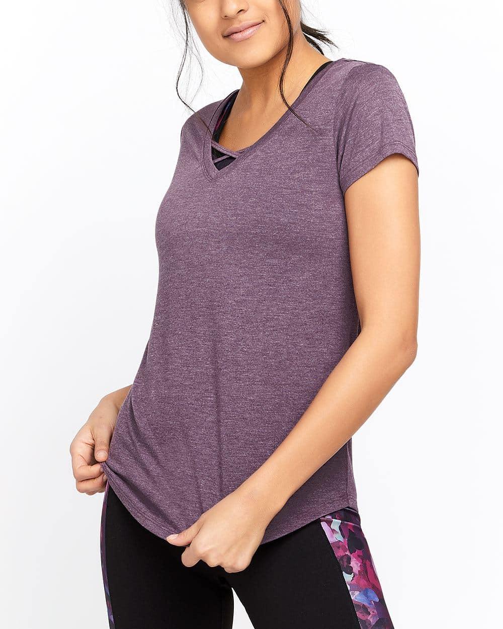 T-shirt avec détails croisés Hyba