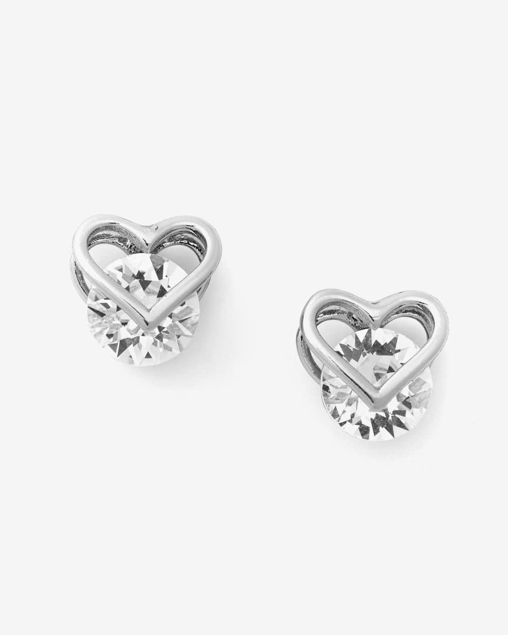 Boutons d'oreilles ornés de cristaux Swarovski®