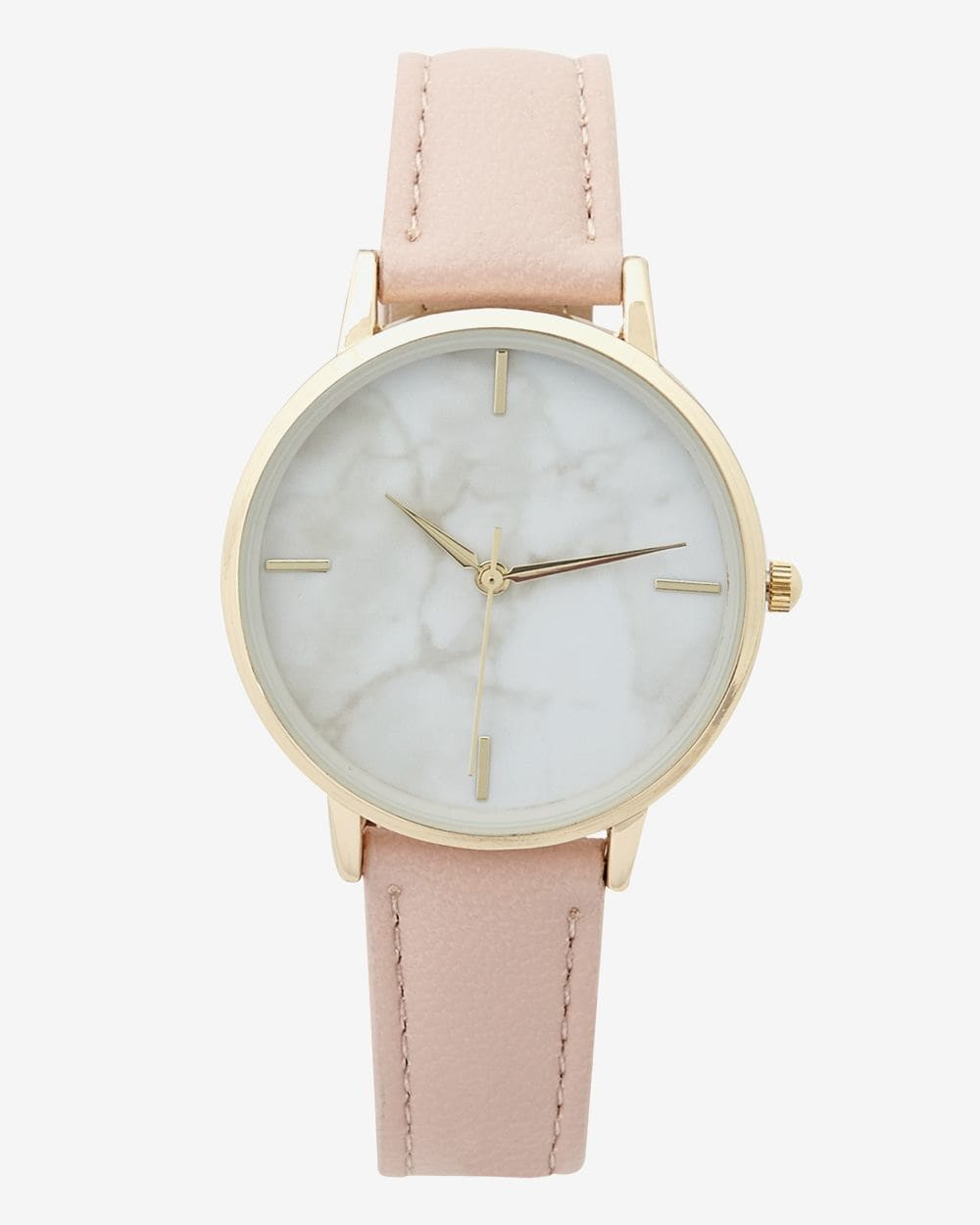 Marble Dial Wristwatch